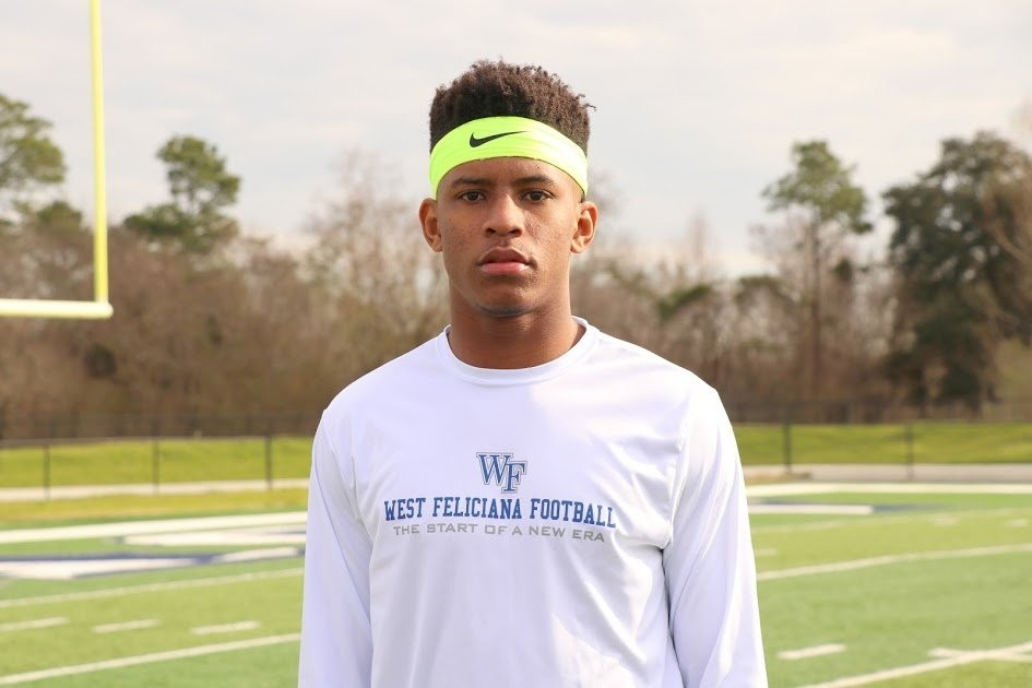 Watch West Feliciana's Derek Turner bring it on both sides of the ball