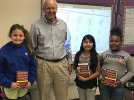 St. Francisville Rotary Club Donates Dictionaries to Third Graders
