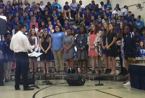 West Feliciana middle-schoolers pay tribute to veterans