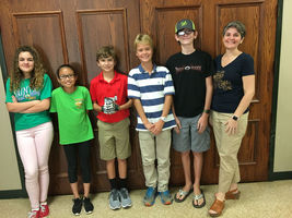 West Feliciana Middle School team finishes third at year's first regional robotics event