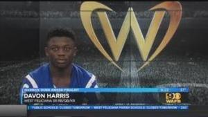 Davon Harris selection gives West Feliciana record 3 Warrick Dunn Finalists