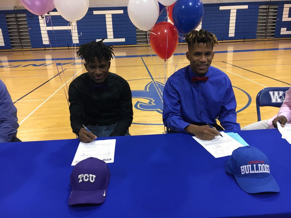'What's best for us': West Feliciana brothers Derek Turner, Derius Davis pick separate schools on national signing day