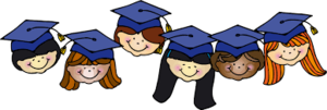 First Grade Graduation is May 9th at 9:30 a.m.