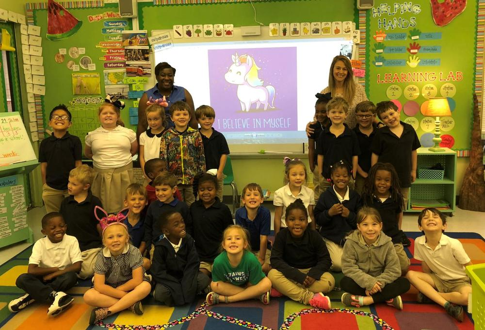 Classroom Spotlight for April 5, 2018: Bains Lower Elementary School kindergarten
