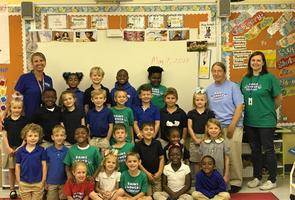 Classroom spotlight for May 17, 2018: Bains Lower Elementary School