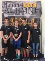 Bains elementary students compete at national Beta convention