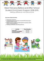Student Enrichment Flyer