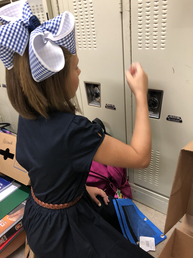 Helping Sixth Graders Master the Lock