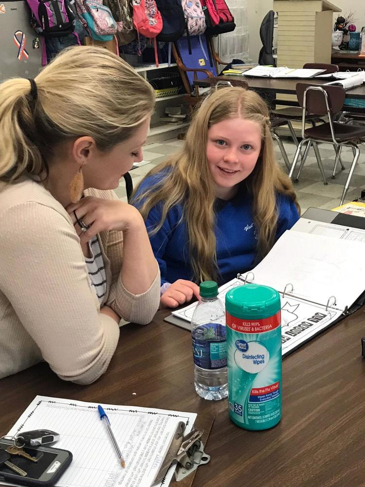 Bains Elementary School students take lead in learning