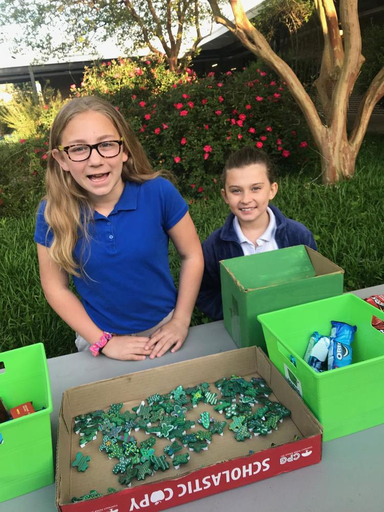 Bains Elementary School students support World Wildlife Fund