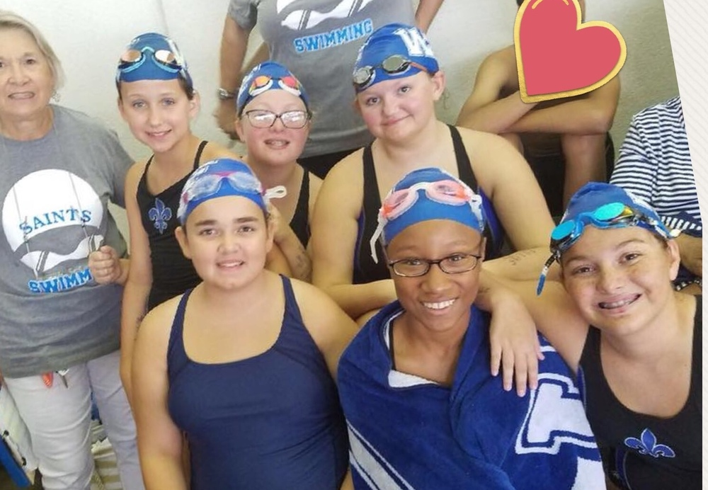 WFMS Swim Team Finishes Strong