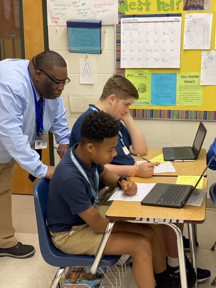 West Feliciana Middle student prepare for second semester with goals