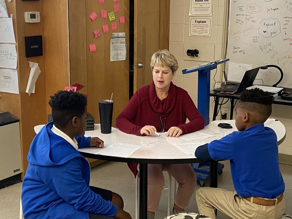 West Feliciana Middle sixth graders tackle math