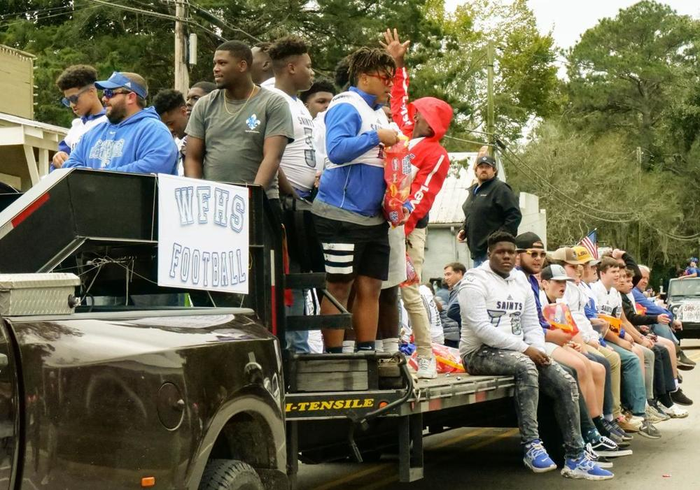 West Feliciana high school celebrates homecoming