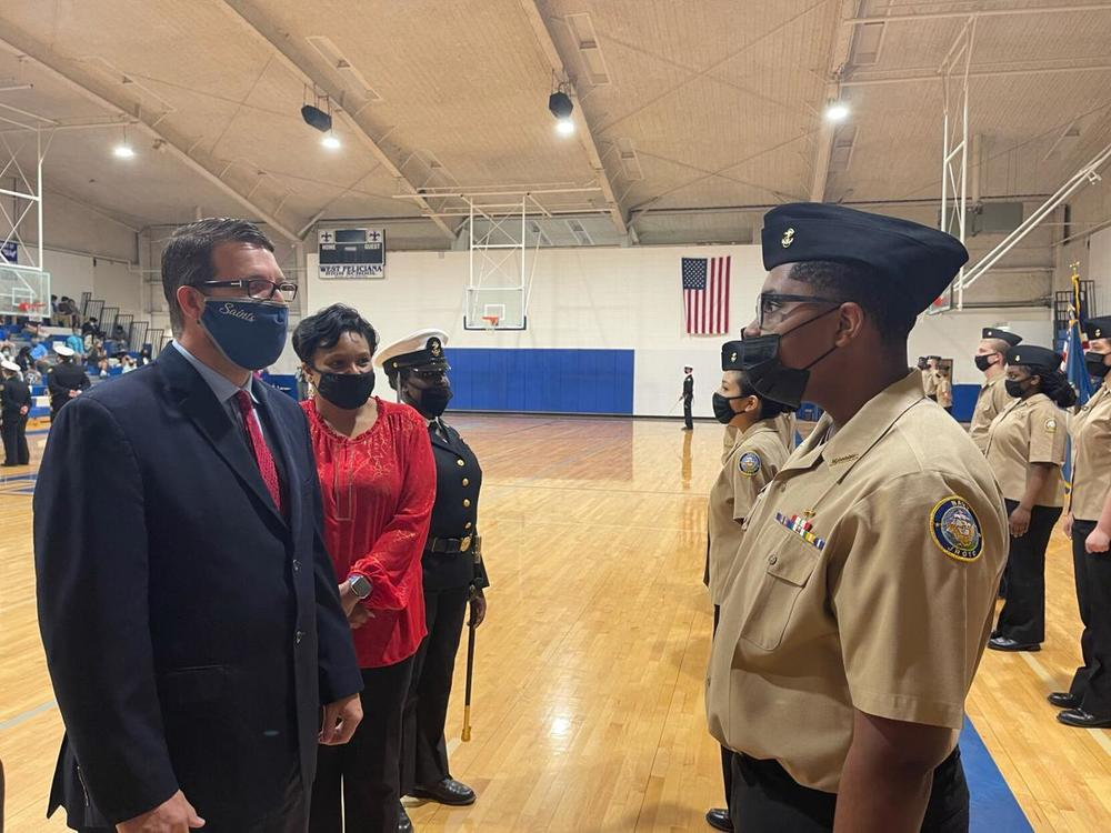West Feliciana High NJROTC holds annual inspection ceremony