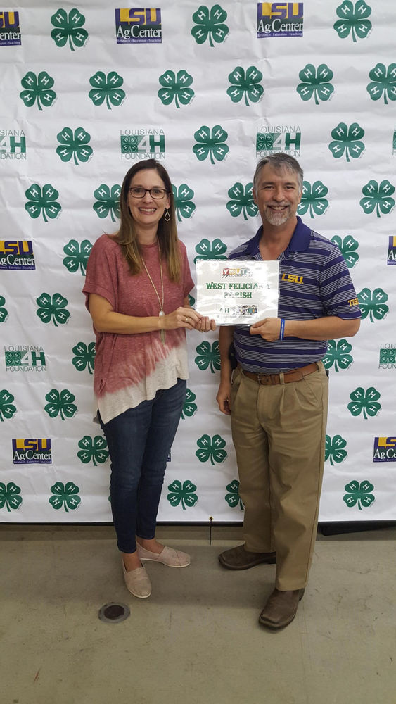 West Feliciana 4-H Club leaders attend 4-H training