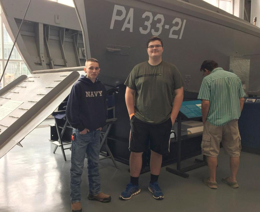 West Feliciana High School seniors visit National World War II Museum in New Orleans