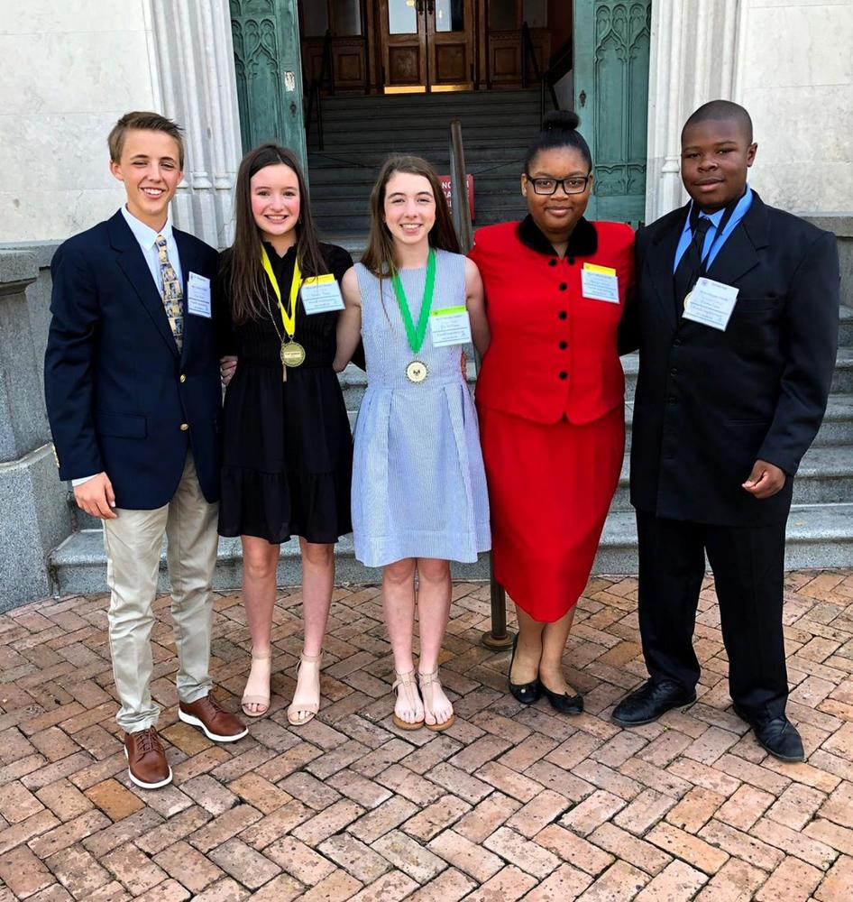 West Feliciana Middle School take leadership roles in Youth Legislature
