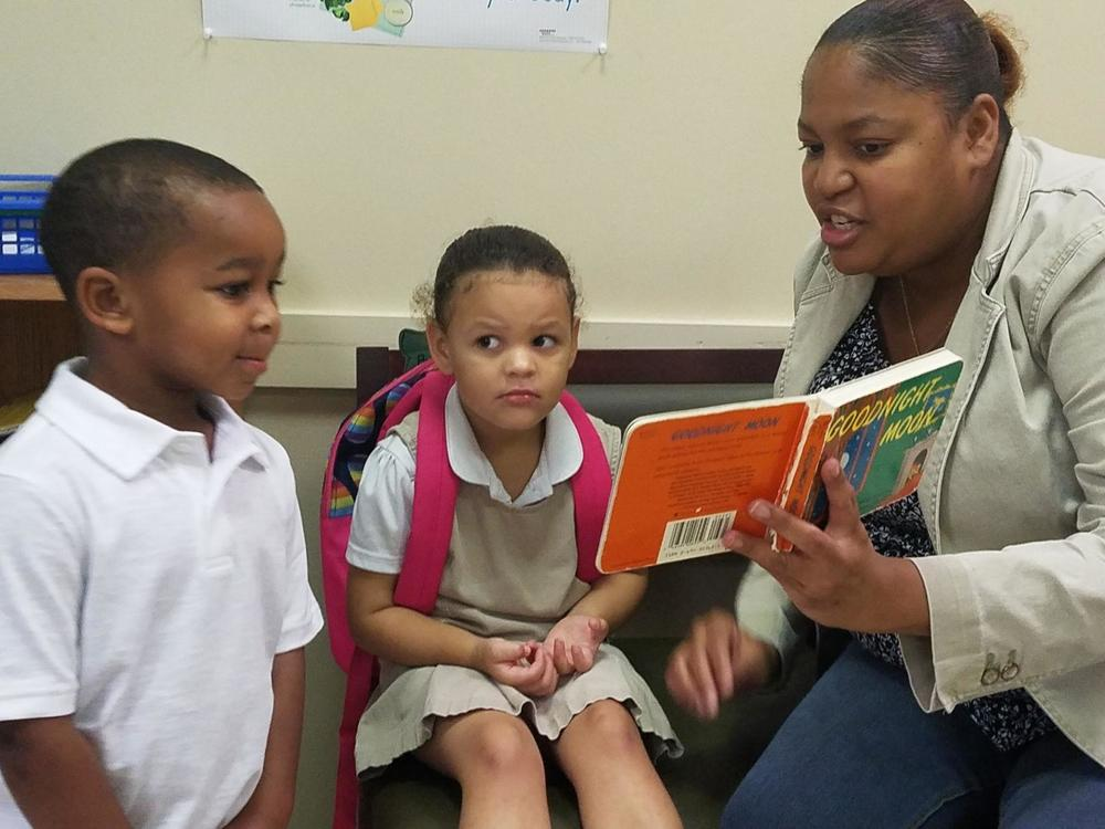Reading is fundamental in West Feliciana Head Start class