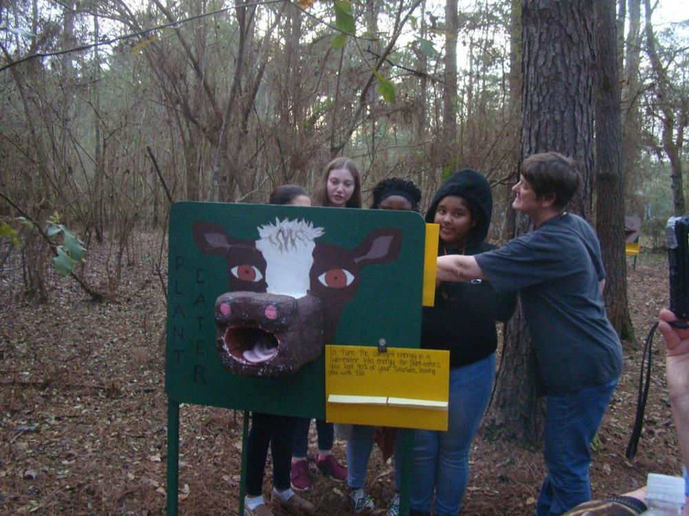 West Feliciana Middle School Students Take Their Learning Outdoors