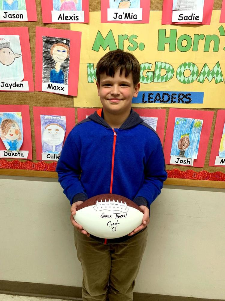 Bains Elementary School fourth-grader earns spot in Accelerated Reader 500 Point Club