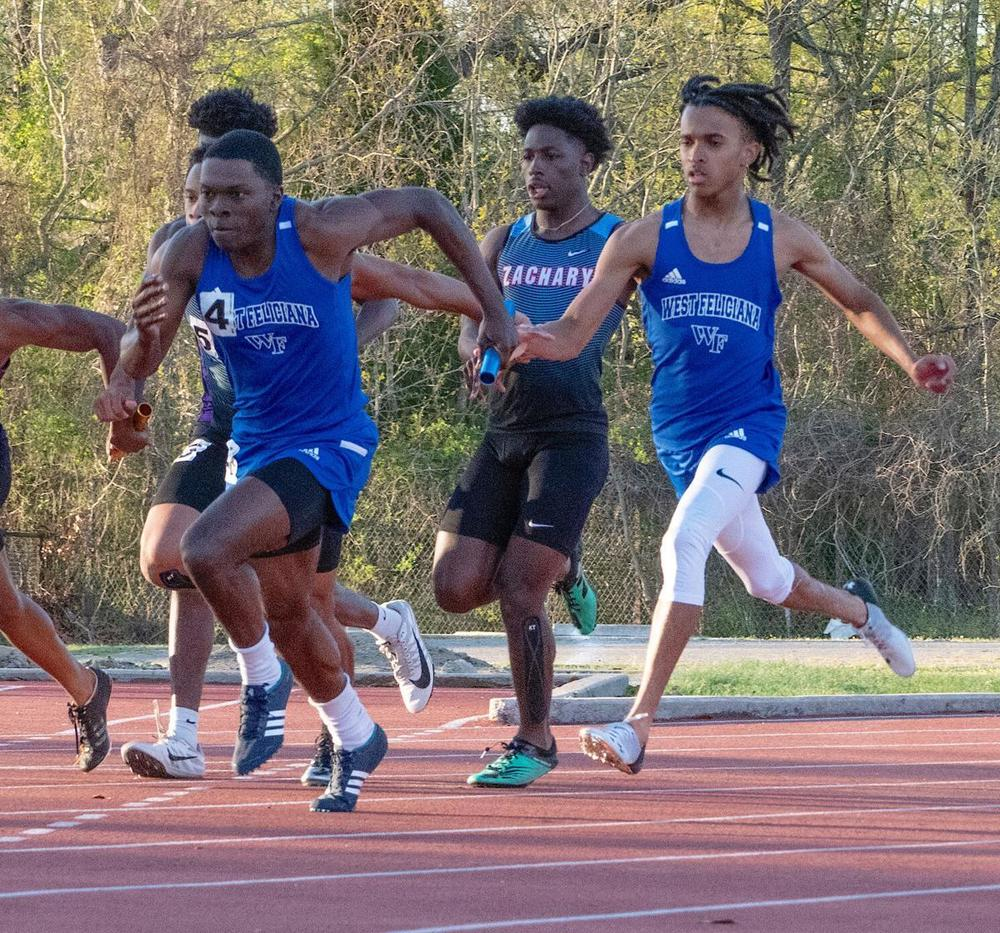 West Feliciana High hits the track for the National Guard Zachary Track Invitational