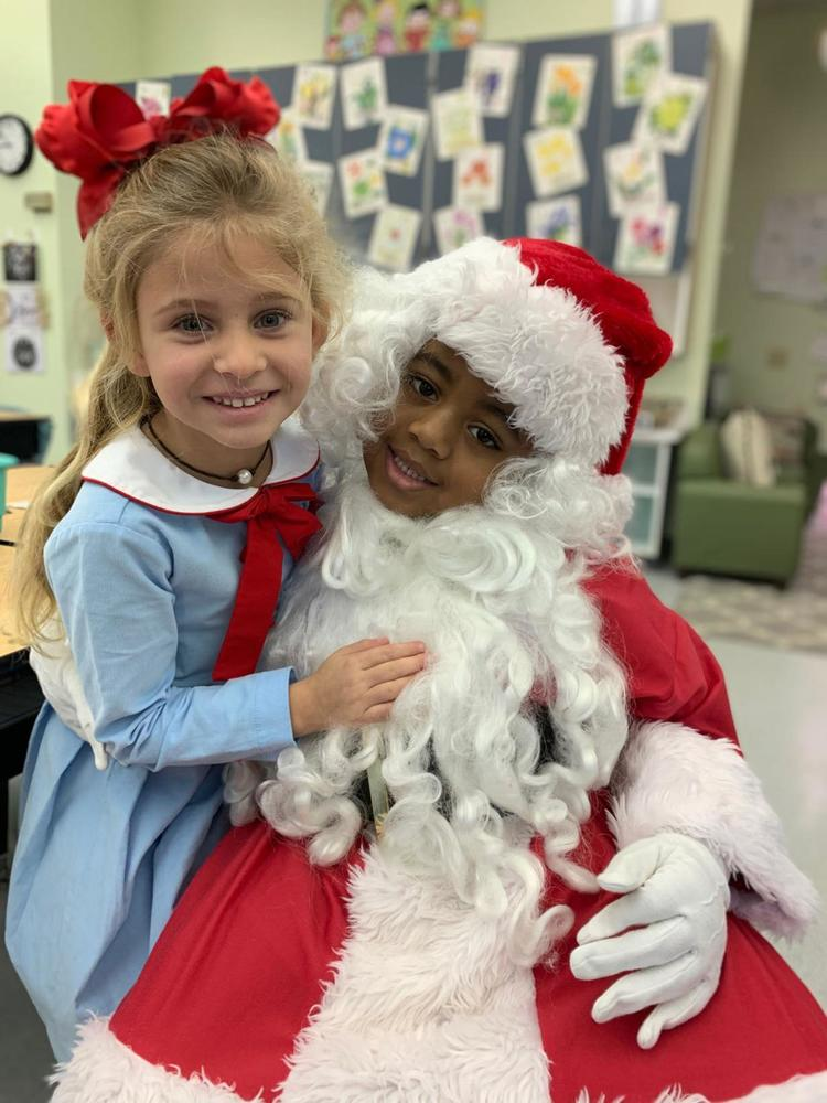 Bains Lower Elementary marks Grinchmas with crafts, games, Santa and more