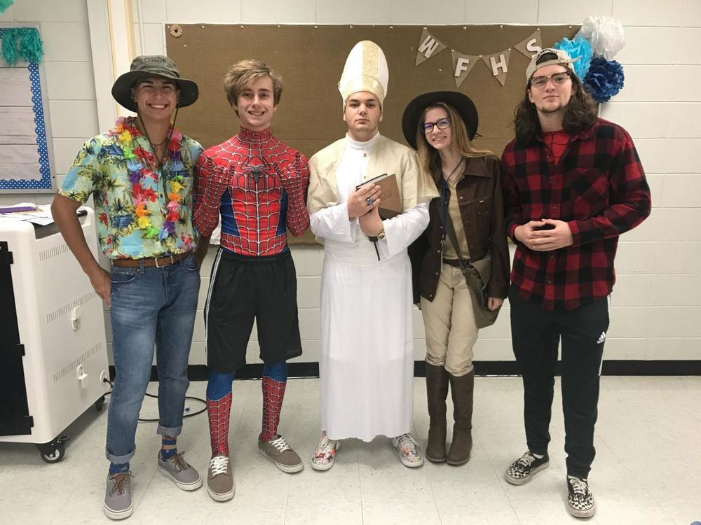 West Feliciana High costumes for Halloween