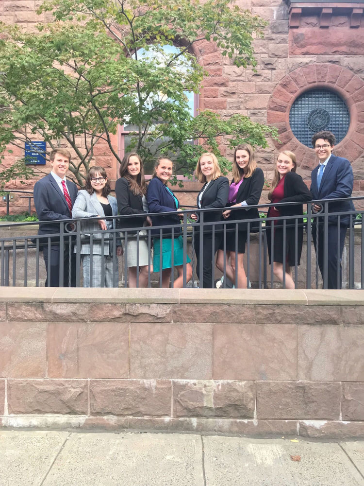 West Feliciana High Mock Trial team places sixth at Yale event