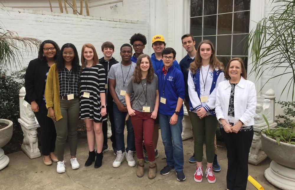 West Feliciana National English Honors Society members attend Writer's and Reader's Symposium
