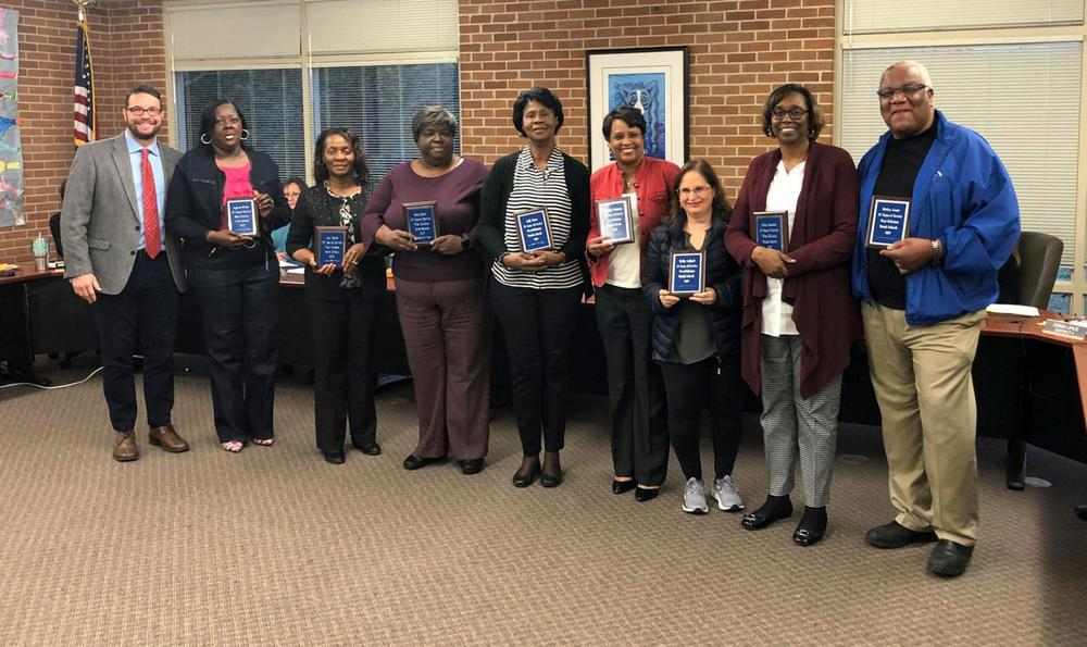 West Feliciana Parish Public Schools honor employees with 30 years of service