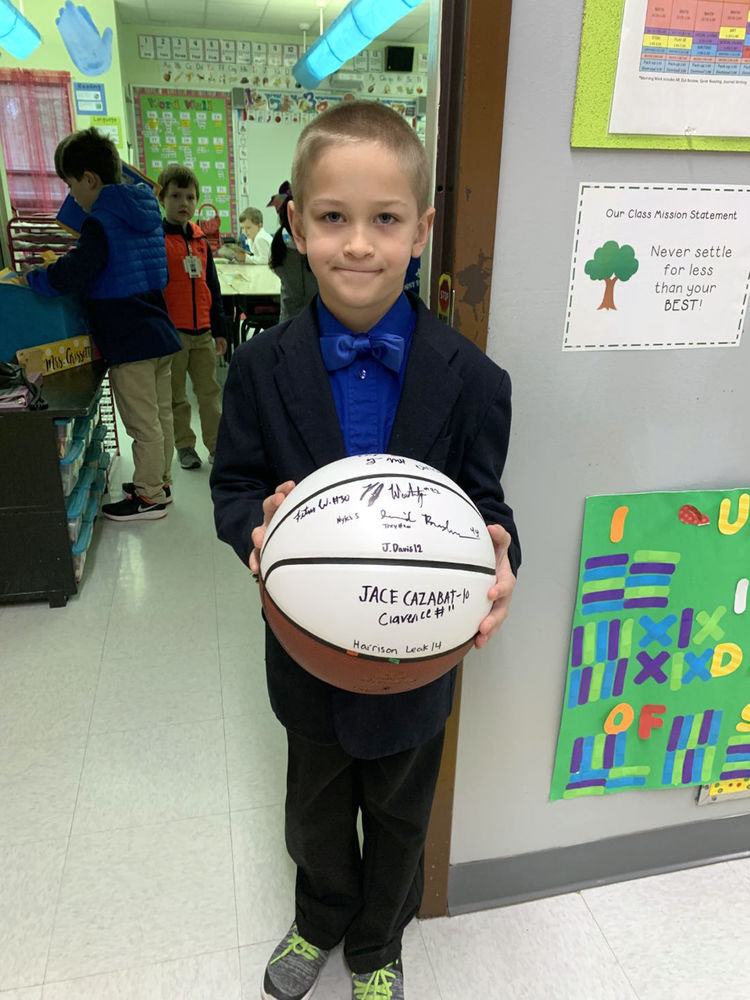 Bains Lower Elementary School student joins Accelerated Reader 100 Point Club