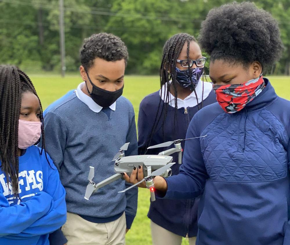 Entergy grant boosts West Feliciana High drone certifications