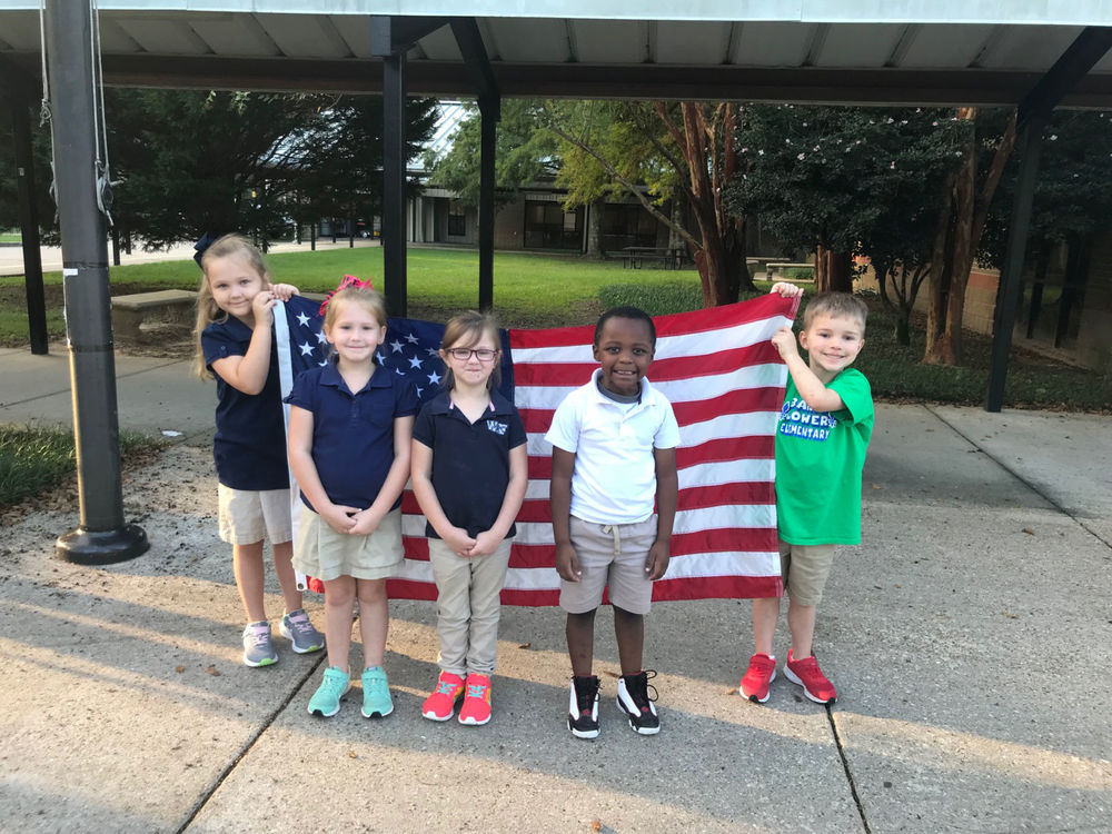Bains Lower students lead morning activities