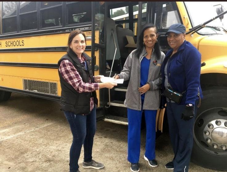 West Feliciana Parish school bus drivers steer help to needy