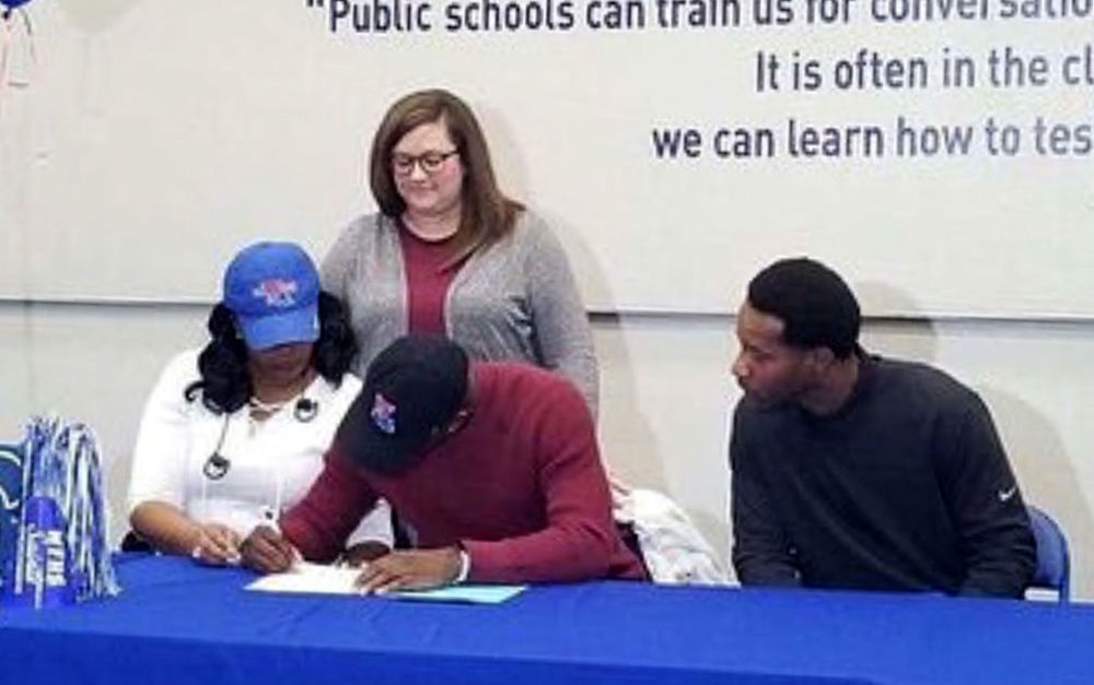 West Feliciana High School seniors accept college athletic scholarships