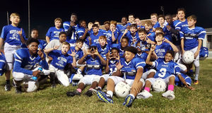 West Feliciana Middle School celebrates last-chance football victory