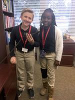 West Feliciana Middle School students take on campus responsibility
