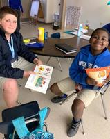 Reading program brings middle school and elementary students together