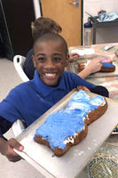 West Feliciana Middle School students welcome spring with sweet treats