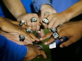 Ring day for track and field state champs from West Feliciana High School