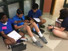 West Feliciana Middle students collaborate in social studies