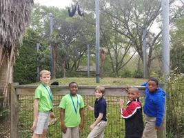 Bains Elementary 4th-graders turn zoo into outdoor classroom