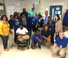 West Feliciana Parish Schools officials recognize students' good behavior