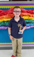 Bains Lower Elementary School student earns spot in Accelerated Reader 100 Point Club