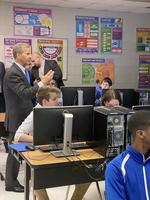 Federal education official lauds STEM, innovation at West Feliciana High