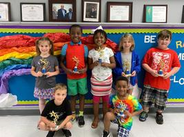 Bains Lower Elementary School students earn spots in Accelerated Reader 100 Point Club