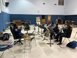 West Feliciana High band students prepare for performances