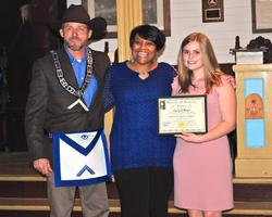 West Feliciana High School students honored