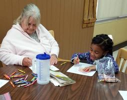 Bains Lower Elementary School students visit St. Francisville Country Manor